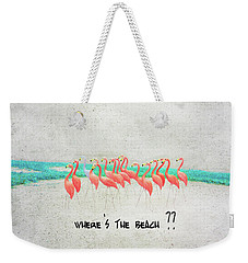 Flamingo Art I Weekender Tote Bag
