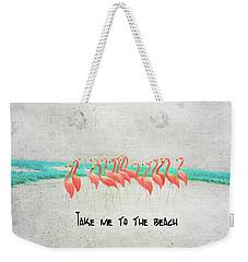 Flamingo Art II Weekender Tote Bag