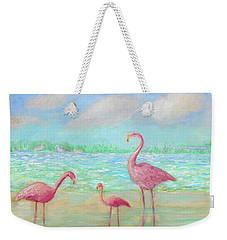 Flamingo Dreaming Weekender Tote Bag