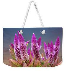 Flamingo Feather  Weekender Tote Bag