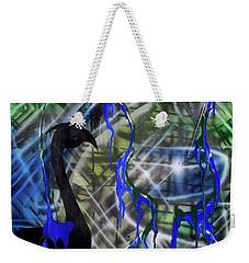 Flamingo Fountain Weekender Tote Bag