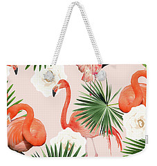 Flamingo Guava Weekender Tote Bag