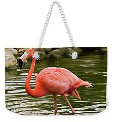 Flamingo Wades Weekender Tote Bag