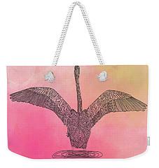 Flamingo2 Weekender Tote Bag