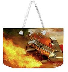 Flam'n Weekender Tote Bag by Joel Witmeyer