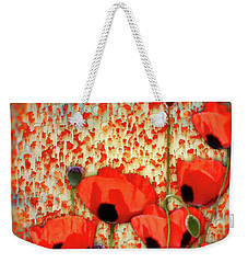 Flanders Fields Weekender Tote Bag