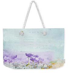 Weekender Tote Bag featuring the photograph Flanelle - 02tc4j24 by Variance Collections