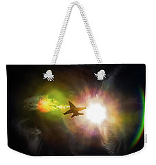 Flare For The Dramatic Weekender Tote Bag
