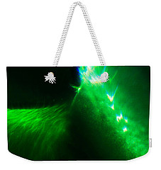 Weekender Tote Bag featuring the photograph Flare by Greg Collins