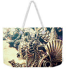 Weekender Tote Bag featuring the photograph Flares Of Nautical Beauty by Jorgo Photography - Wall Art Gallery