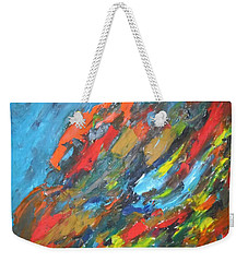 Flash Fire Weekender Tote Bag by Esther Newman-Cohen