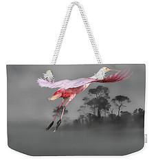 Flash Of Pink Weekender Tote Bag