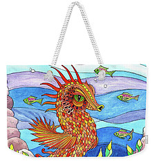 Flashy Swimmer And Fishes Weekender Tote Bag