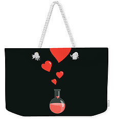 Flask Of Hearts Weekender Tote Bag