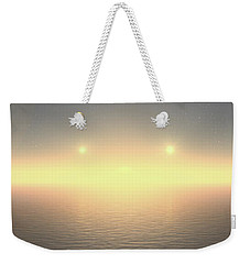 Flat Lights Weekender Tote Bag