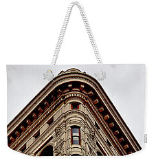 Flatiron Building Detail Weekender Tote Bag