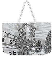 Flatiron In Asheville  Weekender Tote Bag