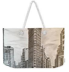 Flatiron Study Weekender Tote Bag
