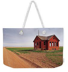 Flatland Schoolhouse Weekender Tote Bag