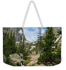 Flattop Mountain In Rocky Mountain National Park Weekender Tote Bag