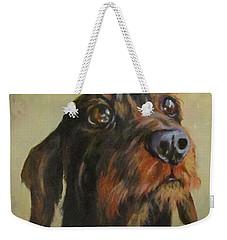 Flavi Weekender Tote Bag by Barbara O'Toole