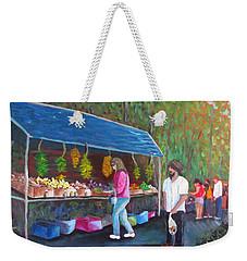 Flea Market Weekender Tote Bag