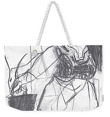 Fleeing Writer Weekender Tote Bag