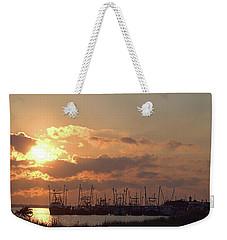 Fleet Weekender Tote Bag by Newwwman