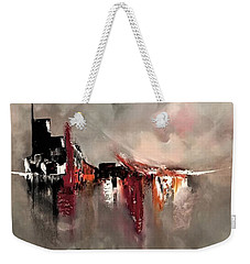 Fleeting Weekender Tote Bag