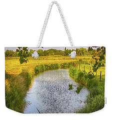 Flemish Creek Weekender Tote Bag by Wim Lanclus