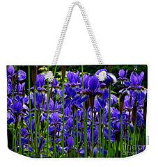 Fleur De Lys Weekender Tote Bag by Elfriede Fulda