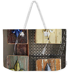 Weekender Tote Bag featuring the photograph Fleurs-de-lis by Todd Blanchard