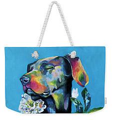 Fleur's Moment Weekender Tote Bag by Arleana Holtzmann