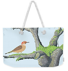 Flicker In The Apple Tree Weekender Tote Bag