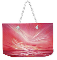 Flight At Sunset Weekender Tote Bag