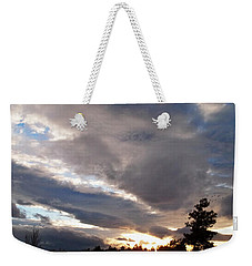 Flight Into Evening Weekender Tote Bag