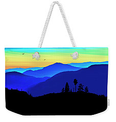 Weekender Tote Bag featuring the photograph Flight Of Fancy by John Poon