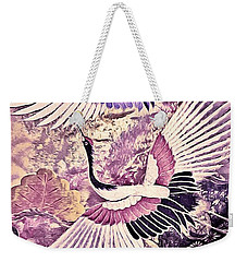 Flight Of Lovers - Kimono Series Weekender Tote Bag by Susan Maxwell Schmidt