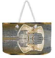 Flight Of The Swan  Weekender Tote Bag