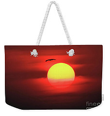 Flight To The Sun Weekender Tote Bag