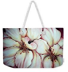 Flighty Floral Weekender Tote Bag