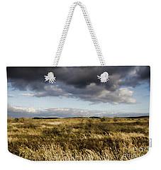 Weekender Tote Bag featuring the photograph Flinders Ranges Fields V3 by Douglas Barnard