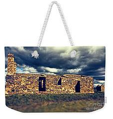 Weekender Tote Bag featuring the photograph Flinders Ranges Ruins V2 by Douglas Barnard