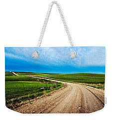 Flint Hills Spring Gravel Weekender Tote Bag
