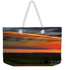 Flint Hills Sunrise Weekender Tote Bag