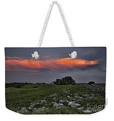 Flinthills Sunset Weekender Tote Bag