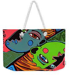 Flip Side Weekender Tote Bag