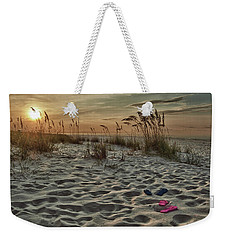 Flipflops On The Beach Weekender Tote Bag