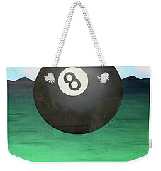 Floating 8 Weekender Tote Bag by Thomas Blood