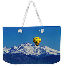 Floating Above The Mountains Weekender Tote Bag by Teri Virbickis